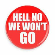 NAACP: Hell No We Won't Go! (Remember this?)