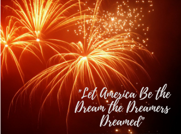 """""""Let America Be the Dream the Dreamers Dreamed"""" – Love,Langston"""