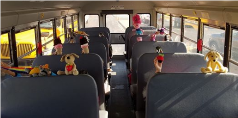 These Lucky Little Riders Get Personalized Handmade Toys from Their School Bus Driver