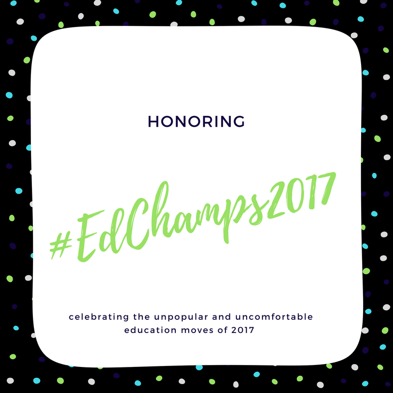 Reflecting on the Year's Education Scene and Honoring Nashville's #EdChamps2017